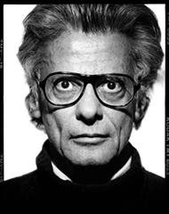 Richard Avedon self-portrait