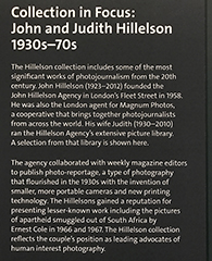 Hillelson Collection